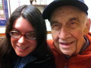 Jessica with K. David Van Hoesen